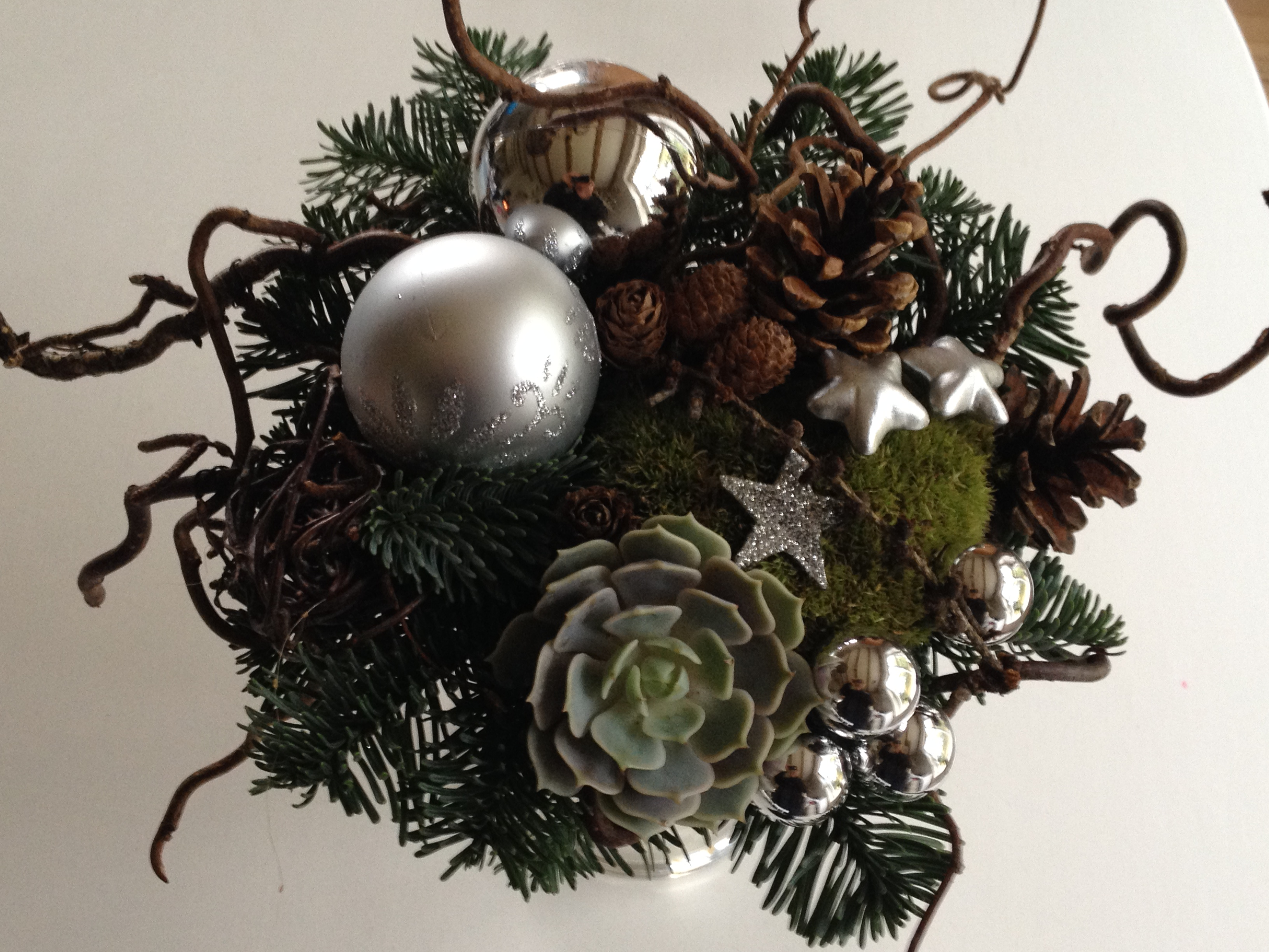 Eksempel på Juledekorationer